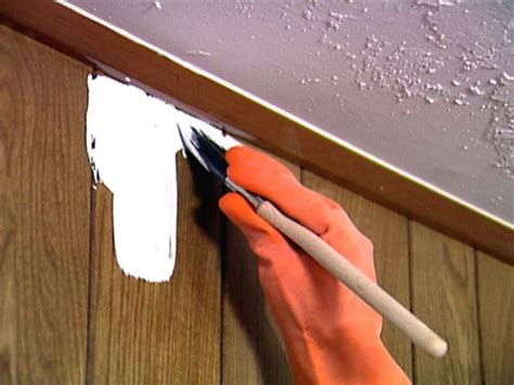 how to paint wood paneling 187 home how to paint paneling video hgtv