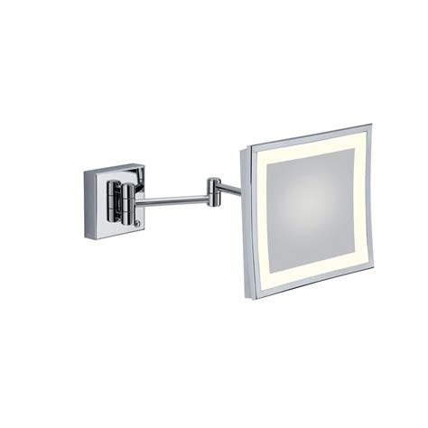 specchio ingranditore bagno specchio ingranditore quadrato con luce al led 23 cm bagno