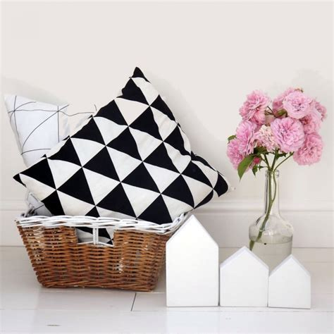 Triangular Pillow Cases by Pillow Big Triangle By Sohomely