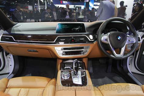 2016 bmw dashboard 2016 bmw 7 series launched at inr 1 11 cr auto expo 2016