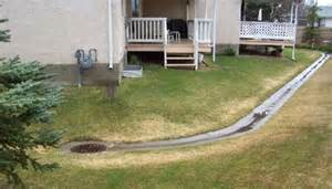 Backyard Water Tower Drainage Swales Commercial And Multi Family City Of
