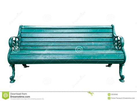The Green Bench Stock Photography Image 23539382