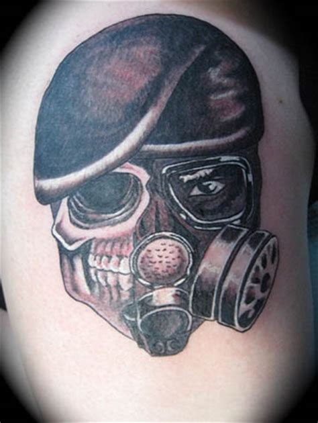 death mask tattoo designs gas mask skull design tattooshunt