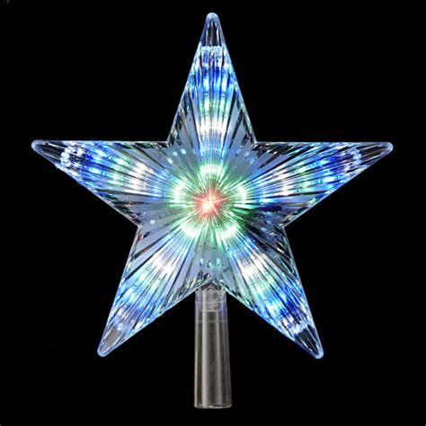 tree topper with lights color changing led tree topper with 31 lights item