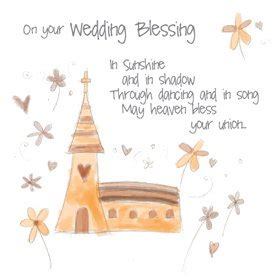 A Wedding Blessing Song by The Rainbow Range Wedding Blessing Greetings Card