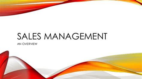 sales management fmcg presentation