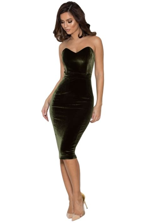 Sabrina Bodycon Dress Sold clothing bodycon dresses antonella olive green