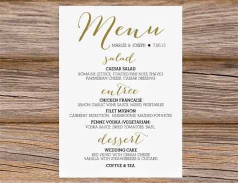Wedding Menu Font Free by Sugar Calligraphy Menus