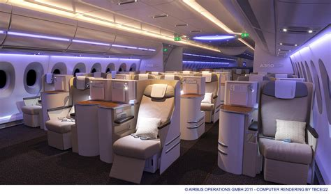 Photos Of Interior by Photos Interior Tour Of The Airbus A350 Xwb