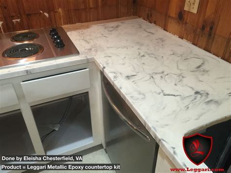 this countertop was coated with a leggari products diy