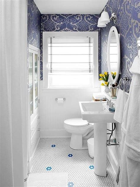 36 blue and white bathroom tile ideas and pictures