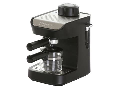Krups Coffee Maker krups xp1020 steam espresso machine with glass carafe 4
