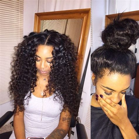 the best sew in human hair 1000 ideas about curly sew in on pinterest curly sew in