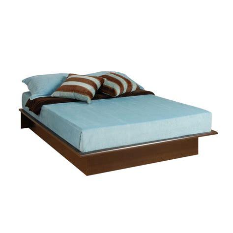full platform bed prepac oak double and full platform bed obd 5475 k the