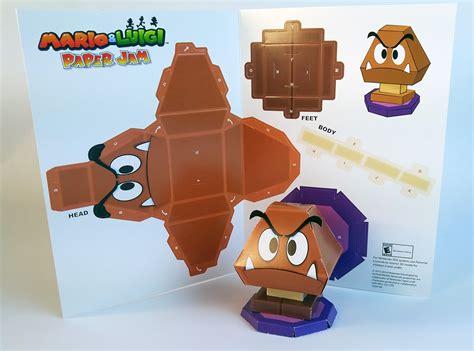 Paper Mario Papercraft - mario luigi paper jam papercraft premium on behance