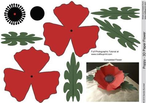 How To Make A Paper Poppy - order paper poppies