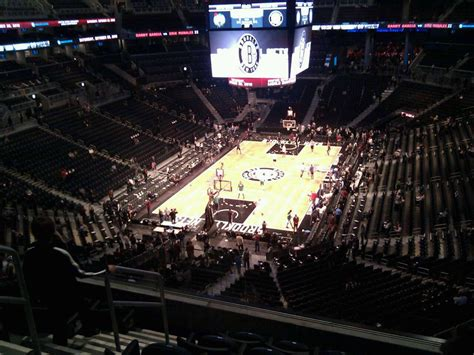 barclays center section 215 barclays center section 214 row 6 seat 14 brooklyn nets
