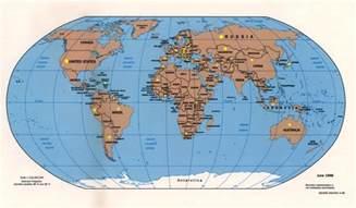 Full World Map by Pf Globe
