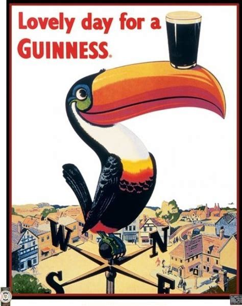 guinness toucan poster sold at europosters