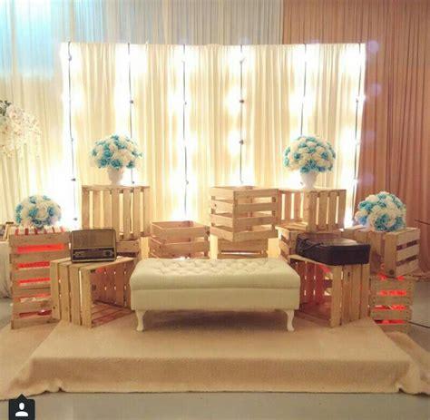 Backdrop Wedding Murah by Rustic Pelamin Simple Wedding Dais Pelamin