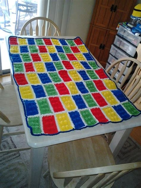 lego quilt tutorial free pattern for crocheted lego brick http www