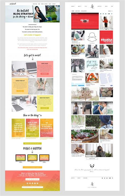 homepage design elements how to design your blog home page for focus and clarity