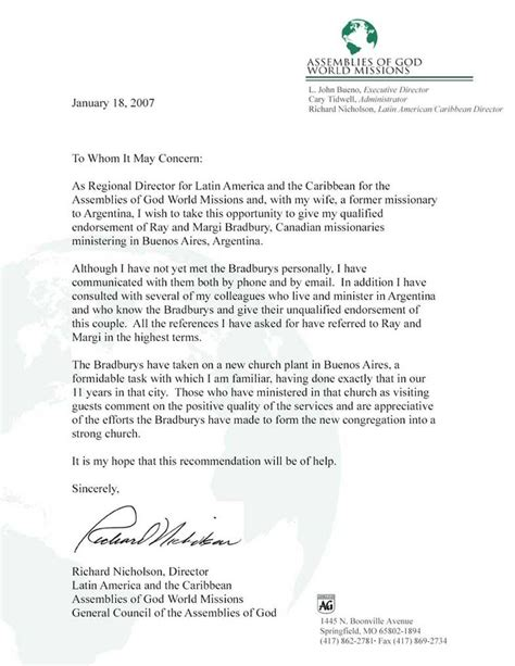 Recommendation Letter Keywords image gallery reference letter