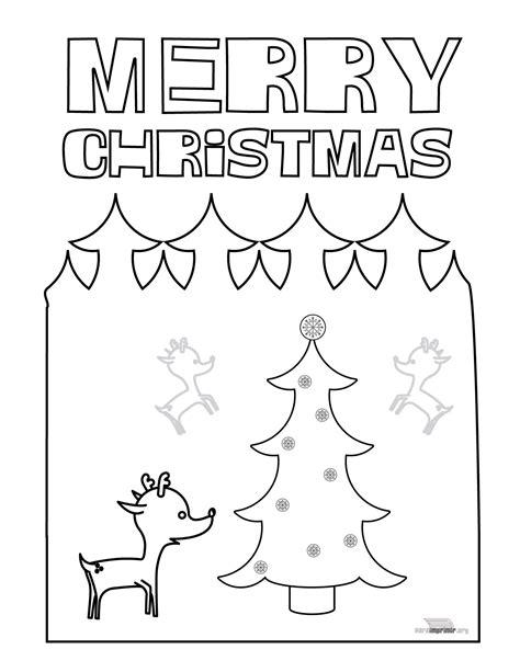 Dibujos De Navidad Para Colorear En Ingles   dibujo de navidad para imprimir en ingles