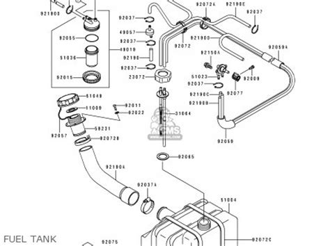 kawasaki 1991 c1 js550 parts list partsmanual partsfiche