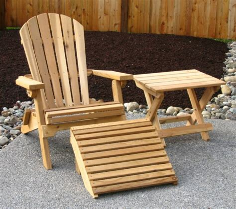 Wooden Patio Chair Wooden Deck Furniture Newsonair Org