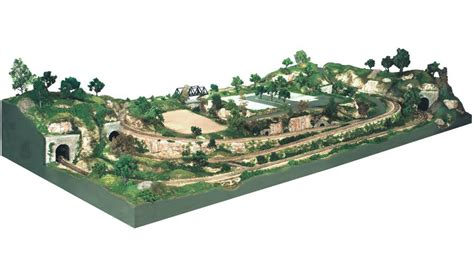layout zoom scale river pass scenery kit ho scale layout kits woodland