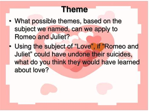 themes of romeo and juliet act 1 scene 4 ppt lesson title the tragedy of romeo and juliet act