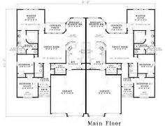 one story duplex house plans 1000 images about duplex single story ranch homes on