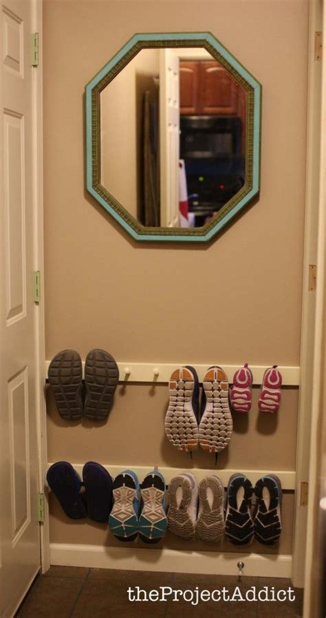 entryway shoe with doors rustic entryway closet idea for doors roselawnlutheran