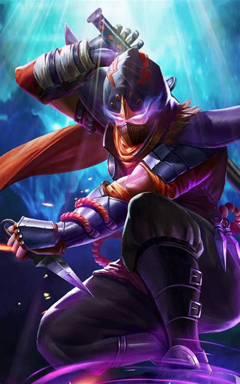 wallpaper android mobile legend hayabusa shadow of iga mobile legends download free 100