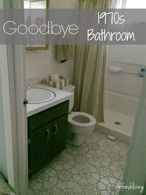 1970s bathroom tiles 1970s bathroom remodel one room challenge week 2