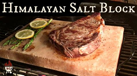 How To Use Himalayan Salt Block For Detox by Grilling With A Himalayan Salt Block Steak Cooked On A