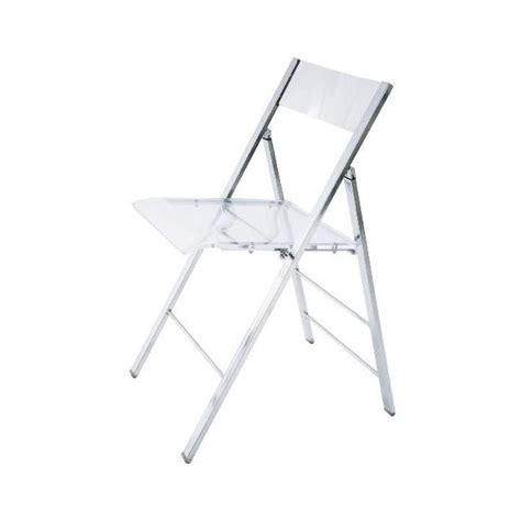 chaise pliante transparente chaise pliante plexi pas cher chaise id 233 es de