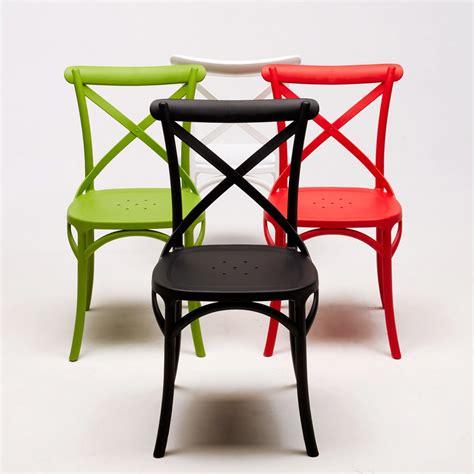 ebay sedie sedie vintage colorata design moderno simile a crossback