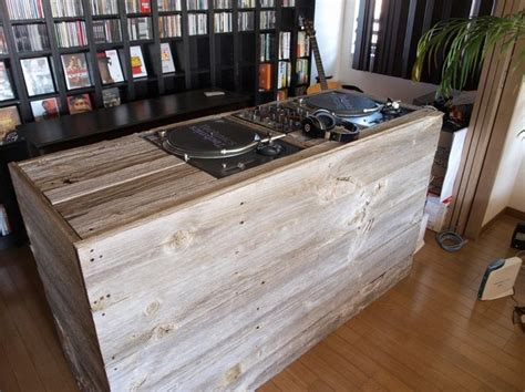 Wooden Dj Table by 17 Best Ideas About Dj Booth On Dj Table Dj