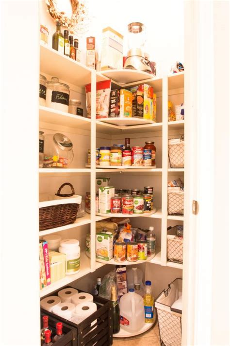 pantry organization and storage ideas hgtv how to use a lazy susan to organize everything in your