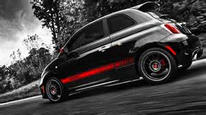 Fiat 500 Abarth Wallpaper 1920x1080 Fiat 500 Abarth Side Angle Desktop Pc And Mac