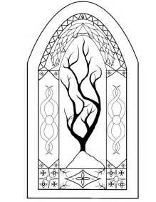 stained glass window pictures to color free coloring