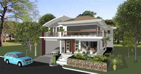 Philippine House Plans And Designs House Designs In The Philippines In Iloilo By Erecre Realty Design And Construction