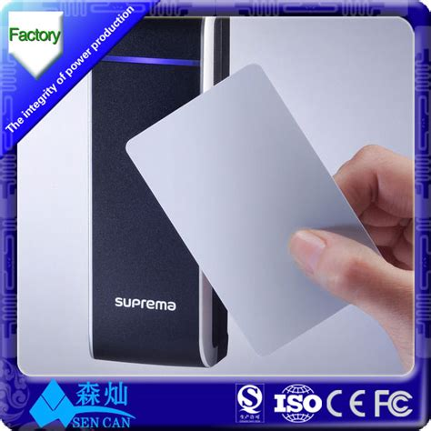 access 2 card access card blank proximity card 13 56mhz s50 1k chip white card big discount from china