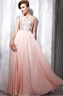 glamorous couture light pink sequin prom dress 6568387