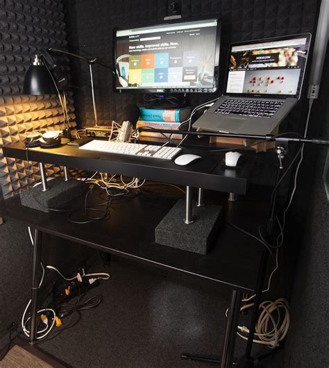 Build Your Own Studio Desk by Diy Standing Desk Make Your Own And Save Money