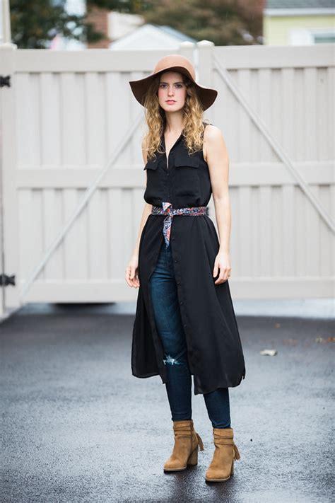 Dress U Can See Denim how to wear a dress galbraith