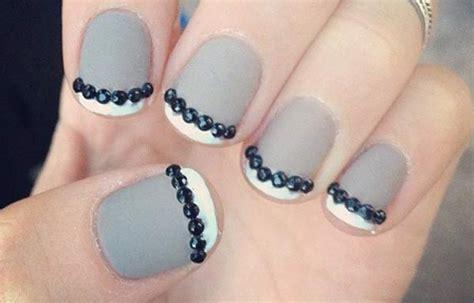 imagenes de uñas pintadas en gris u 241 as decoradas color gris u 241 asdecoradas club