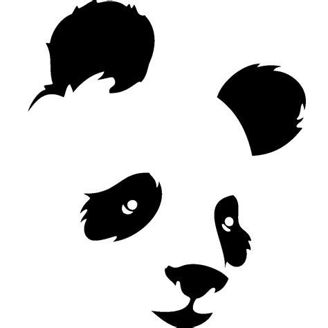 Mickey Mouse Wall Mural stickers muraux animaux sticker t 234 te de panda de face